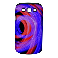 Background Blue Red Samsung Galaxy S Iii Classic Hardshell Case (pc+silicone)