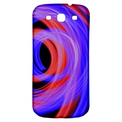 Background Blue Red Samsung Galaxy S3 S Iii Classic Hardshell Back Case