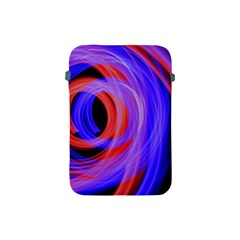 Background Blue Red Apple Ipad Mini Protective Soft Cases