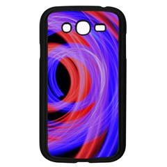 Background Blue Red Samsung Galaxy Grand Duos I9082 Case (black)
