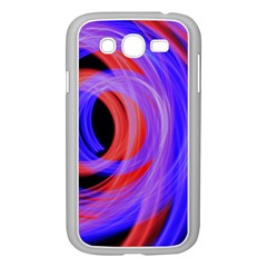 Background Blue Red Samsung Galaxy Grand Duos I9082 Case (white)