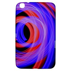 Background Blue Red Samsung Galaxy Tab 3 (8 ) T3100 Hardshell Case