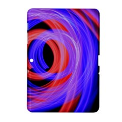 Background Blue Red Samsung Galaxy Tab 2 (10 1 ) P5100 Hardshell Case