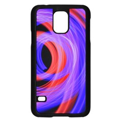 Background Blue Red Samsung Galaxy S5 Case (black)