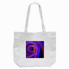 Background Blue Red Tote Bag (white)