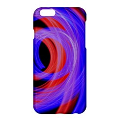 Background Blue Red Apple Iphone 6 Plus/6s Plus Hardshell Case