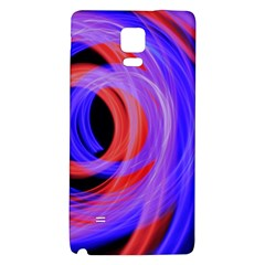 Background Blue Red Galaxy Note 4 Back Case