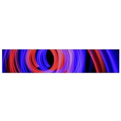 Background Blue Red Flano Scarf (small)