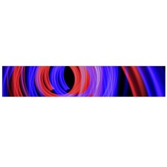Background Blue Red Flano Scarf (large)