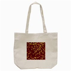 Background Design Leaves Pattern Tote Bag (cream)