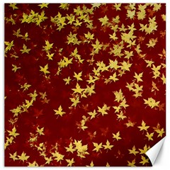 Background Design Leaves Pattern Canvas 16  x 16
