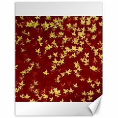 Background Design Leaves Pattern Canvas 18  X 24