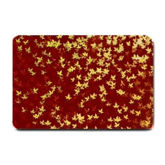 Background Design Leaves Pattern Small Doormat
