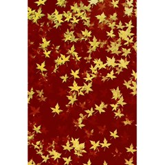 Background Design Leaves Pattern 5 5  X 8 5  Notebooks
