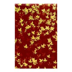 Background Design Leaves Pattern Shower Curtain 48  X 72  (small)