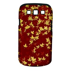 Background Design Leaves Pattern Samsung Galaxy S Iii Classic Hardshell Case (pc+silicone)