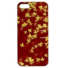 Background Design Leaves Pattern Apple Iphone 5 Hardshell Case With Stand