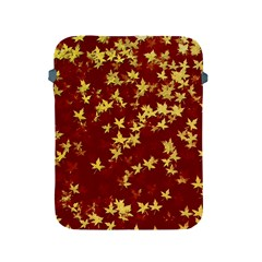 Background Design Leaves Pattern Apple Ipad 2/3/4 Protective Soft Cases