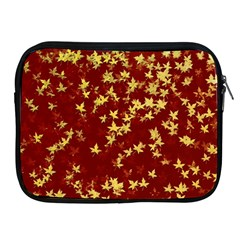 Background Design Leaves Pattern Apple Ipad 2/3/4 Zipper Cases