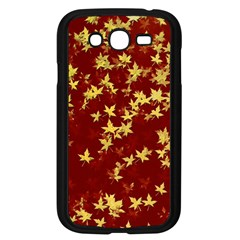 Background Design Leaves Pattern Samsung Galaxy Grand Duos I9082 Case (black)