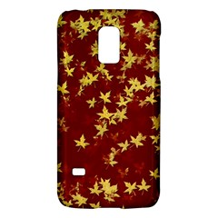 Background Design Leaves Pattern Galaxy S5 Mini
