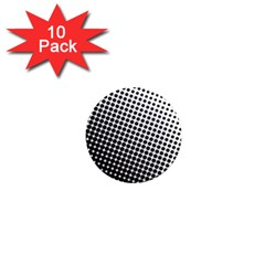 Background Wallpaper Texture Lines Dot Dots Black White 1  Mini Magnet (10 pack)