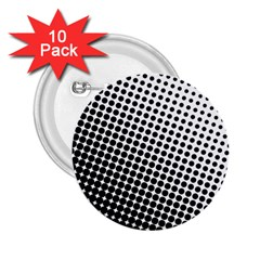 Background Wallpaper Texture Lines Dot Dots Black White 2 25  Buttons (10 Pack)
