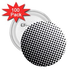 Background Wallpaper Texture Lines Dot Dots Black White 2.25  Buttons (100 pack)