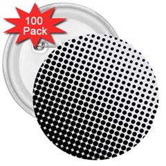 Background Wallpaper Texture Lines Dot Dots Black White 3  Buttons (100 Pack)