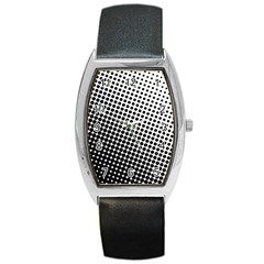 Background Wallpaper Texture Lines Dot Dots Black White Barrel Style Metal Watch