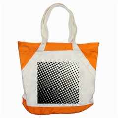 Background Wallpaper Texture Lines Dot Dots Black White Accent Tote Bag