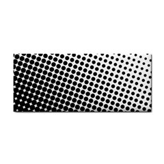 Background Wallpaper Texture Lines Dot Dots Black White Cosmetic Storage Cases