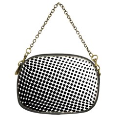 Background Wallpaper Texture Lines Dot Dots Black White Chain Purses (two Sides)