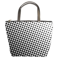 Background Wallpaper Texture Lines Dot Dots Black White Bucket Bags