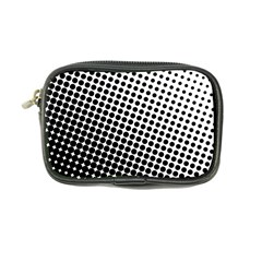 Background Wallpaper Texture Lines Dot Dots Black White Coin Purse