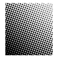 Background Wallpaper Texture Lines Dot Dots Black White Shower Curtain 66  X 72  (large)
