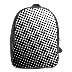 Background Wallpaper Texture Lines Dot Dots Black White School Bags(large)