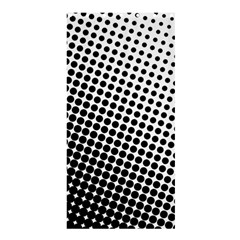 Background Wallpaper Texture Lines Dot Dots Black White Shower Curtain 36  X 72  (stall)