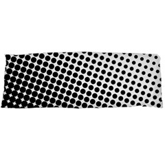 Background Wallpaper Texture Lines Dot Dots Black White Body Pillow Case Dakimakura (two Sides)