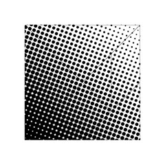 Background Wallpaper Texture Lines Dot Dots Black White Acrylic Tangram Puzzle (4  X 4 )