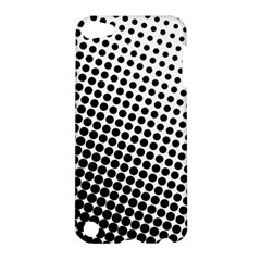 Background Wallpaper Texture Lines Dot Dots Black White Apple Ipod Touch 5 Hardshell Case