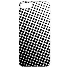 Background Wallpaper Texture Lines Dot Dots Black White Apple Iphone 5 Classic Hardshell Case