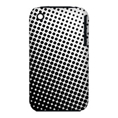 Background Wallpaper Texture Lines Dot Dots Black White Iphone 3s/3gs