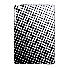 Background Wallpaper Texture Lines Dot Dots Black White Apple Ipad Mini Hardshell Case (compatible With Smart Cover)