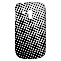 Background Wallpaper Texture Lines Dot Dots Black White Galaxy S3 Mini