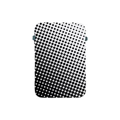 Background Wallpaper Texture Lines Dot Dots Black White Apple Ipad Mini Protective Soft Cases