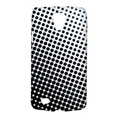 Background Wallpaper Texture Lines Dot Dots Black White Galaxy S4 Active
