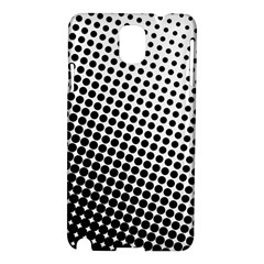 Background Wallpaper Texture Lines Dot Dots Black White Samsung Galaxy Note 3 N9005 Hardshell Case