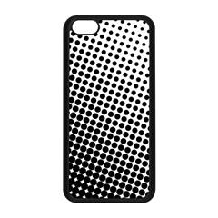 Background Wallpaper Texture Lines Dot Dots Black White Apple Iphone 5c Seamless Case (black)
