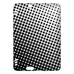 Background Wallpaper Texture Lines Dot Dots Black White Kindle Fire Hdx Hardshell Case